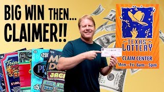 🤑 BIG WIN to HUGE WIN! CLAIMER!! **INCREDIBLE ODDS** 💰 $170 IN TEXAS LOTTERY Scratch Off Tickets