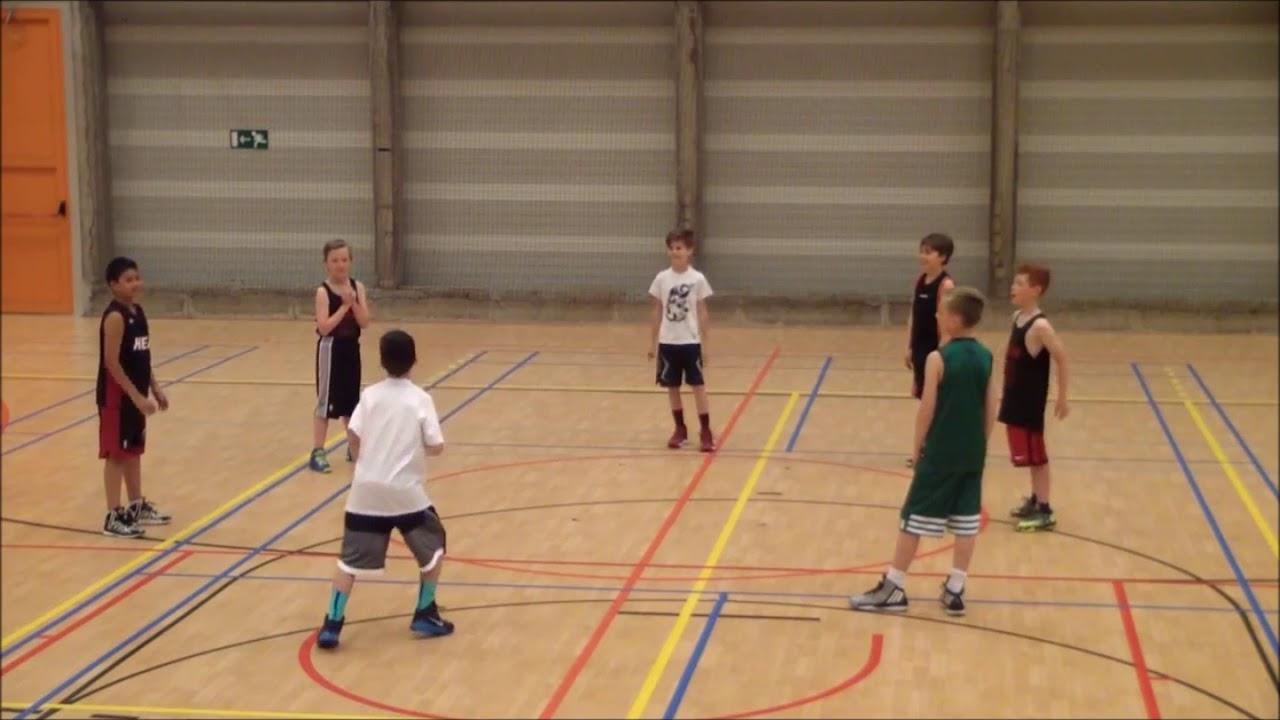 Bekend Gymles: Basketbal 14: passen - YouTube #II05