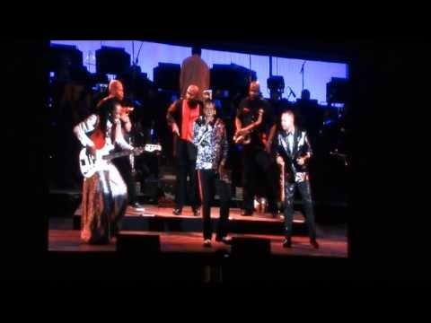 Earth, Wind & Fire Now, Then & Forever Tour At Hollywood Bowl