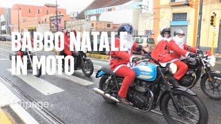 A Napoli Babbi Natale in moto per i bambini di quartieri difficili