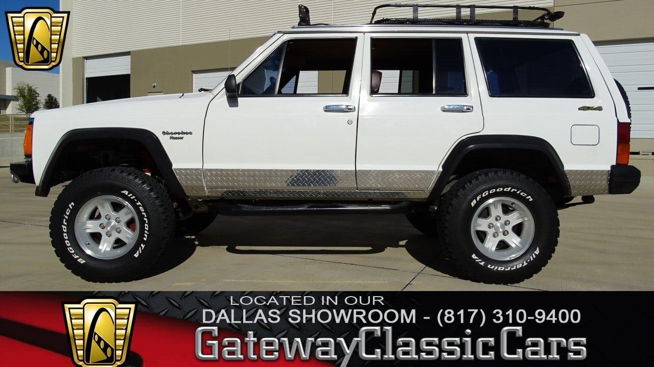 Jeep Cherokee Pioneer Dfw Gateway Classic Cars Of Dallas