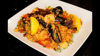 Seafood Spanish Paella(Authentic And Homemade) Recipe (Valencia) Look At This!