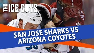 NHL Picks | San Jose Sharks vs. Arizona Coyotes Preview | Ice Guys