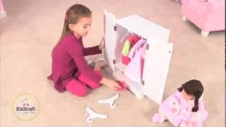 Kidkraft Lil Doll Armoire 60132