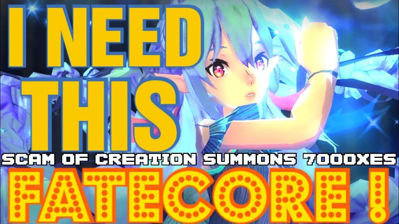 Bathory String of creation summons 7000 XES - Exos Heroes - F2P - Fatecore