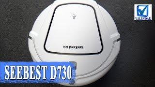 Обзор Seebest D730 умный пылесос для сухой и влажной уборки