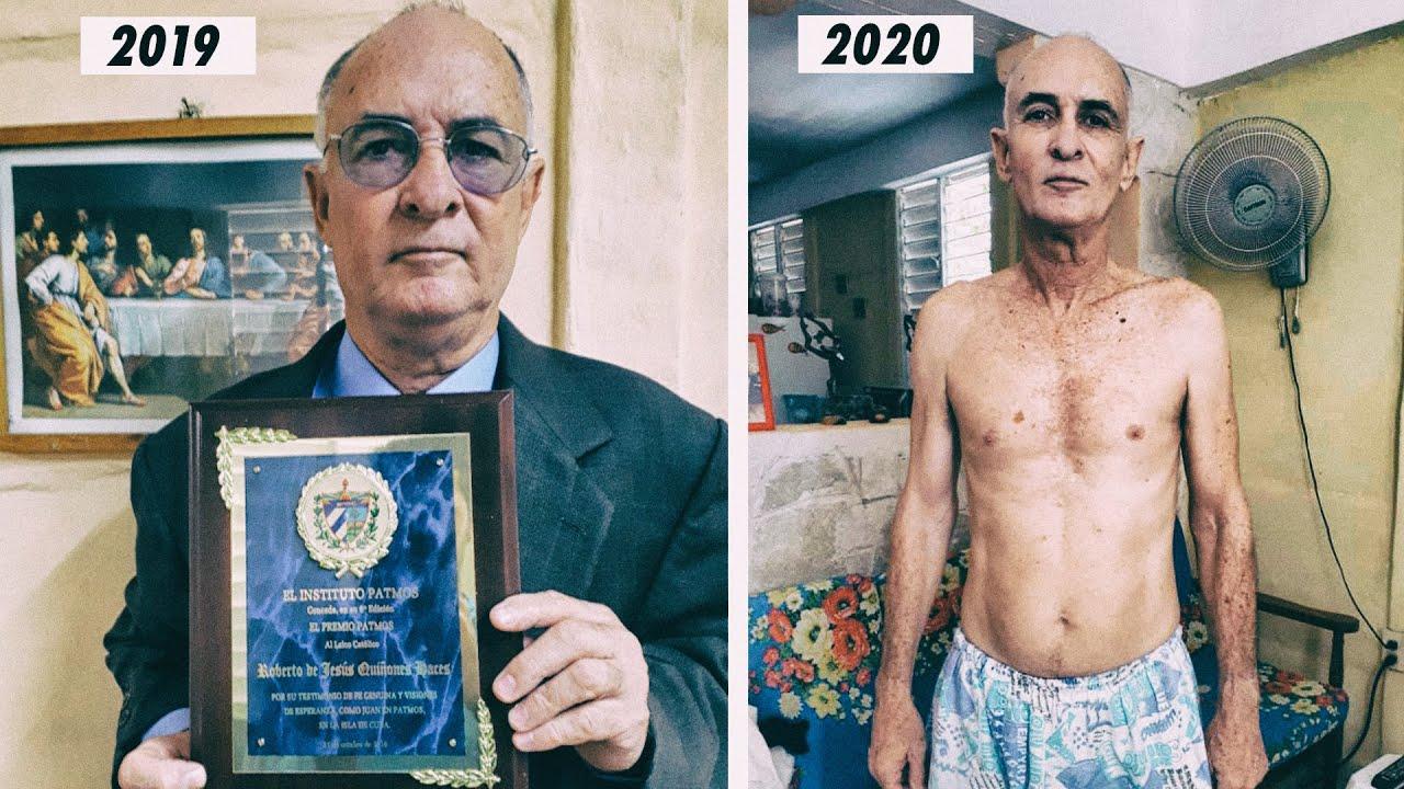 En este estado el régimen cubano libera al periodista Roberto de Jesús  Quiñones - YouTube