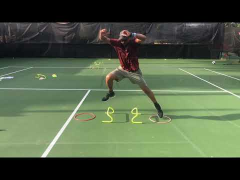 Tennis / Fitness Training + footwork + agility + balance + explosiveness + speed with  Coach Dabul