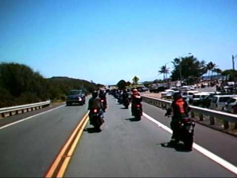 Sandy Beach Safety Ride Honolulu Hawaii Tachyon XC