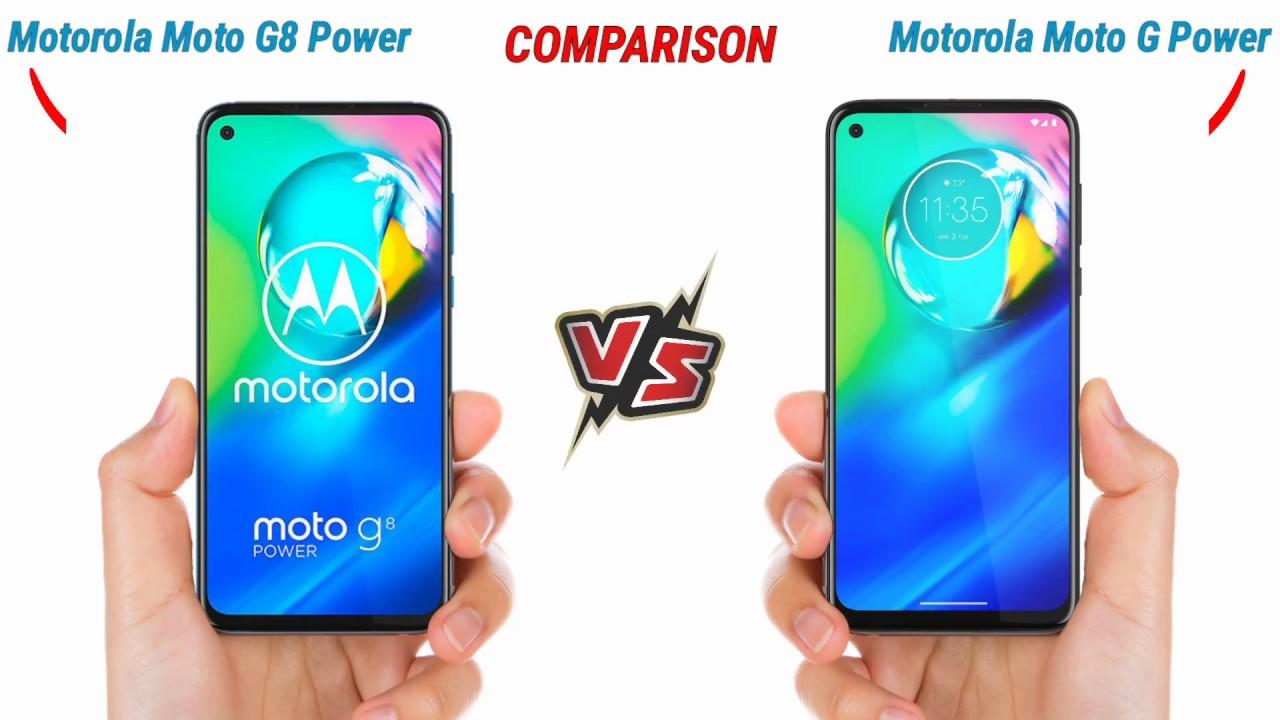 Motorola G8 Power Vs Motorola G Power Full Comparison