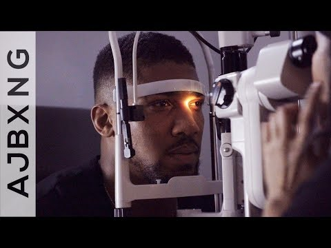 Man's Gonna Give Him A Big Right G ~ Anthony Joshua
