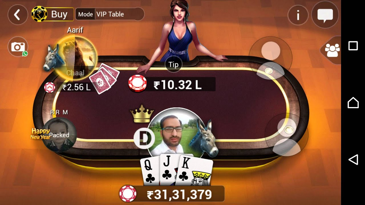 Teen Pattii Gold Offline Casino Game For Android Phone