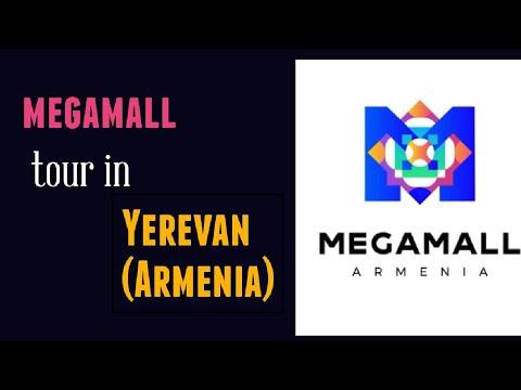 Mega mall Tour in Yerevan (Armenia) || #Yerevan #travel