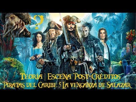 Teoría de la escena Post-Créditos Piratas del Caribe 5 La venganza de Salazar