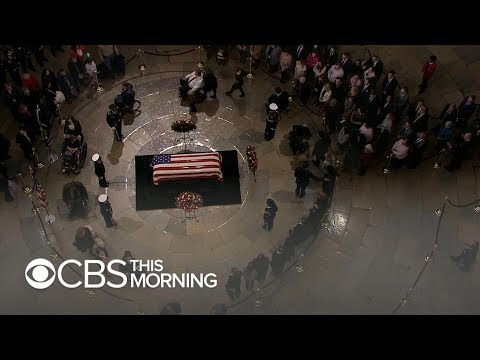 Ceremony on Capitol steps to take place before George H.W. Bushs state funeral