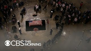Ceremony on Capitol steps to take place before George H.W. Bush's state funeral