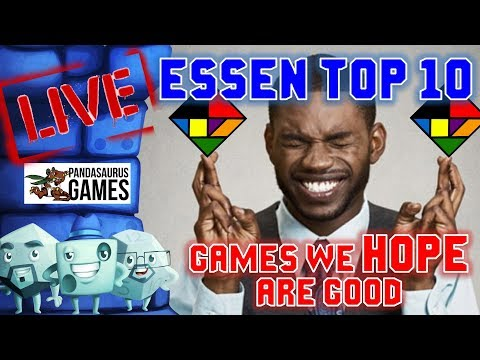 Top Board Games 2020.Essen Top 10 Games We Hope Are Good