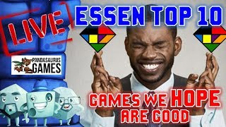 Essen Top 10: Games We HOPE Are Good