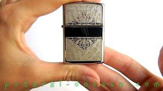 Зажигалка Zippo 28467 Filigree Initial (Видео обзор) podarki-odessa.com