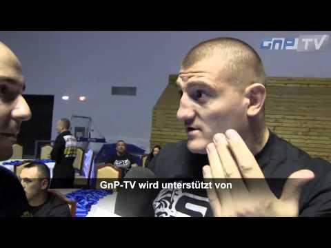 "Catalin Morosanu: ""We are like gladiators in the Roman Empire!"" - SuperKombat World Grand Prix 2012"