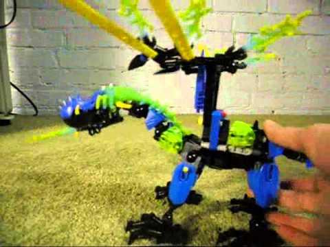 LEGO Hero Factory Review Dragon Bolt - YouTube