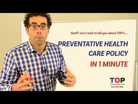 Policy in a Minute  - Preventative Healthcare