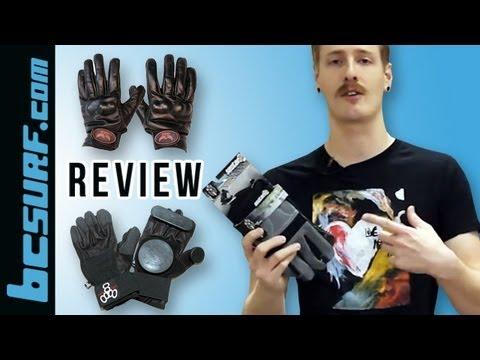 Sector 9, Loaded, Dregs, & Triple Eight Slide Gloves Review - BCSurf.com