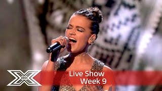 Emily sparkles with John Lennon's Happy Christmas (War is Over) | Semi Final | The X Factor UK 2016