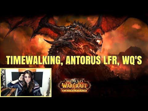 Cata Timewalking, Antorus LFR, WQ's for Leggo Upgrades - Paladin PoV