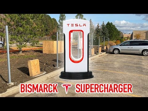 Bismarck, ND Tesla Supercharger Is Almost Here!