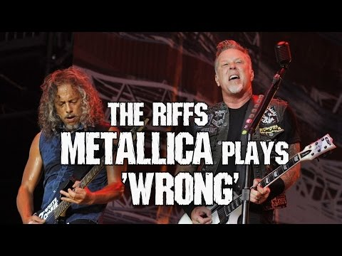 Riffs Metallica plays  WRONG 😈 PART 1 + TABS Andriy Vasylenko