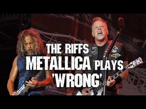 "Riffs Metallica plays live ""WRONG"" 😈 (PART 1 + TABS) Andriy Vasylenko"