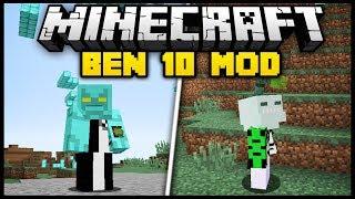 Minecraft BEN 10 MOD (Mod Showcase)