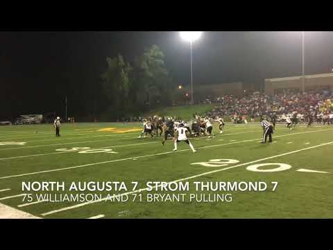 North Augusta 34, Strom Thurmond 21 - Full Highlights