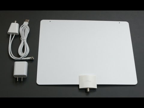 Mohu Leaf 50 Indoor HDTV Antenna  -  Review Central