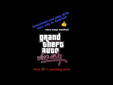 Download And Play GTA Vice City In Android Mobile By Devwrat1234killer