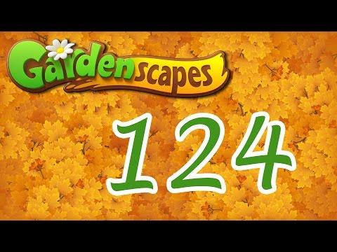 Gardenscapes level 124 Walkthrough