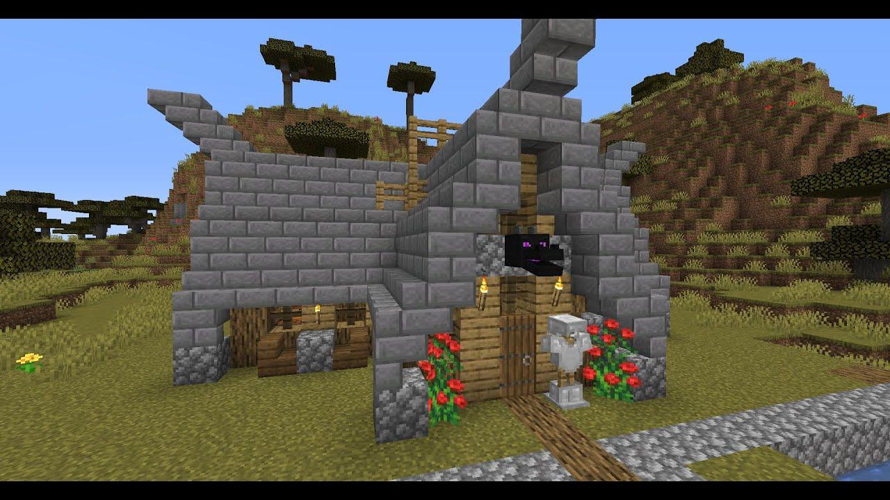 Дом Викинга в Майнкрафте. Vikings house in Minecraft