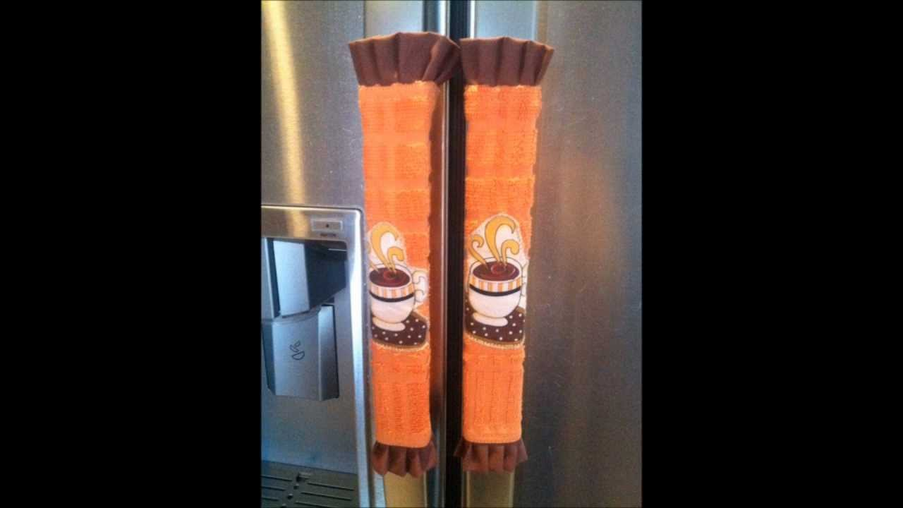 Crochet Towel Toppers for Your Autumn Kitchen  free