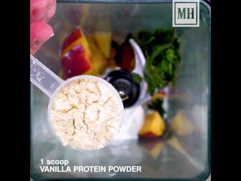 The Peach And Protein Power Shake