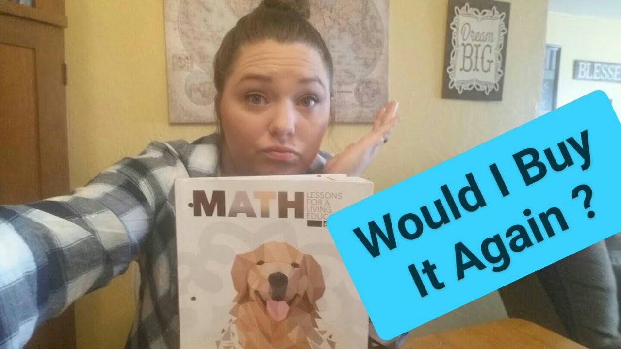 Master Books Math Lessons For A Living Education Review - How we like it half way through image