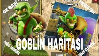 Goblin Haritasını Bitiriyoruz(Ok Başı,Kırmızı Halı,Doğal Savunma,Çelik Eldiven)#1 - Clash of Clans
