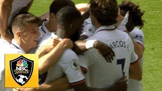 Tammy Abraham nets Chelsea's second goal against Wolves | Premier League | NBC Sports