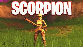 New SCORPION SKIN GAMEPLAY in FORTNITE! Check out the new Scorpion skin in action!