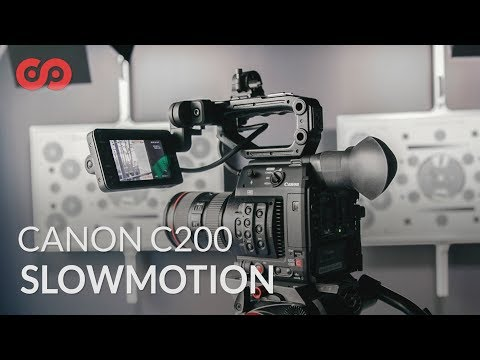 How to Shoot Slow Motion on the Canon C200 - YouTube