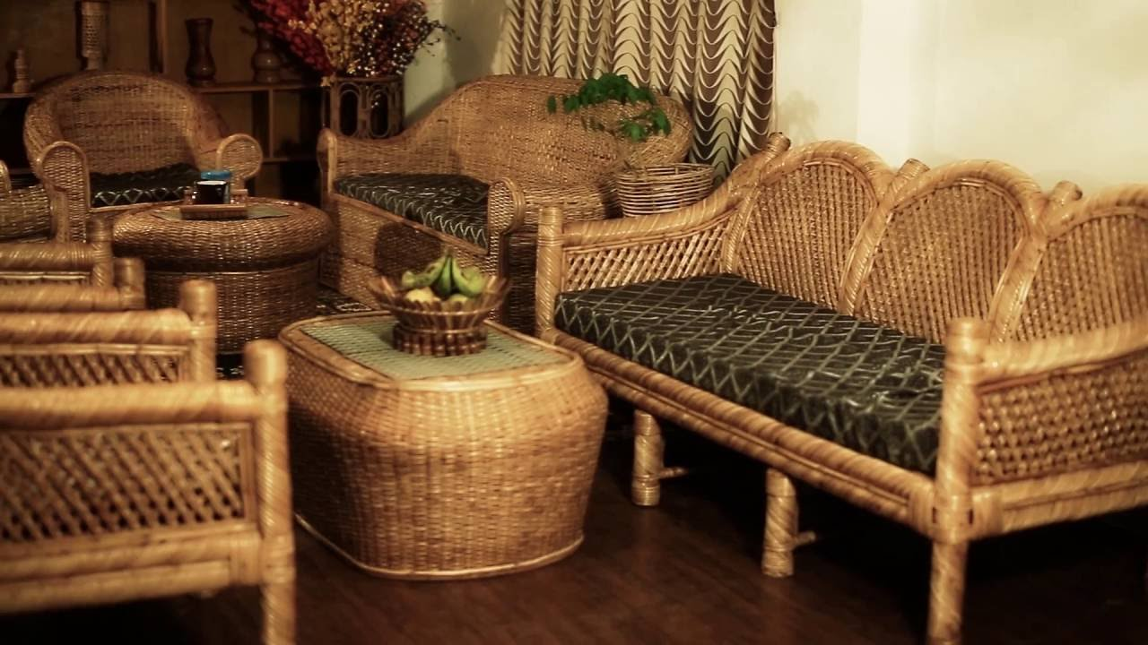 Unt Bamboo Cane Furniture Show Room Youtube