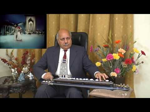 Lata's Oonchi Oonchi Duniya Ki Deewarein played on Banjo Bulbul Tarang by Prof Qasim Hasan Zaidi