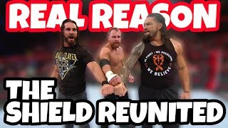 REAL REASON Why The Shield Reunited!!! - WWE Raw Update
