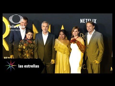 """Se realizó premier de la película """"Roma"""" en Hollywood   Las Estrellas"""