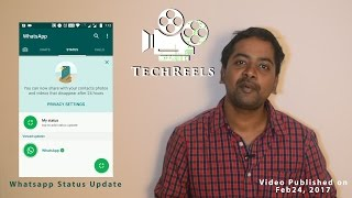 WhatsApp Status new Updates [தமிழ்](WhatsApp rolled out one of its Major feature today called WhatsApp Status, which is very similar to the Hike stories. Checkout this Video to know more about the ..., 2017-02-24T04:10:37.000Z)